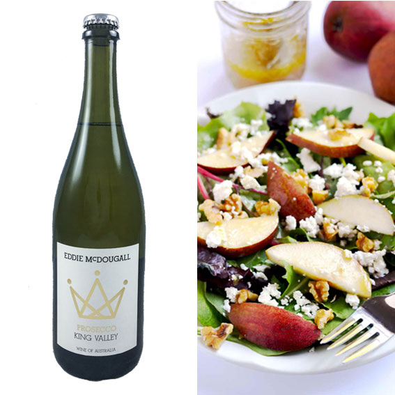 King Valley Prosecco food pairing